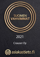 Crauser Oy - Suomen vahvimmat 2021